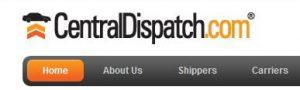 Central Dispatch Search Vehicles menu