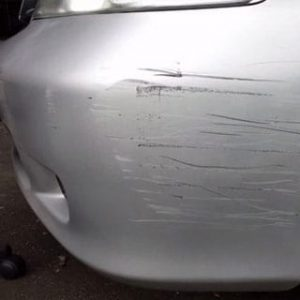 Scratched Vehicle Damage