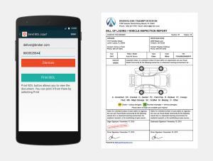 Super Dispatch Mobile App with eBOL