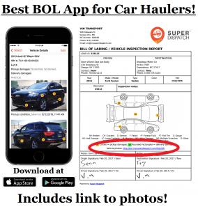 Car Hauler BOL App