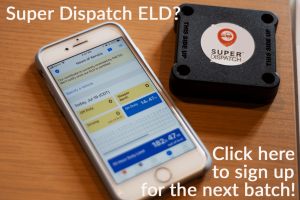 Super Dispatch, Electronic Logging Device, car haulers, auto transporters