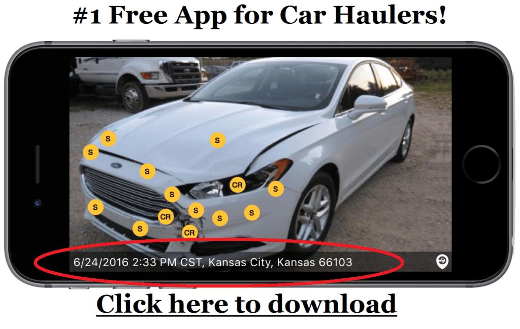 Car Transport eBOL app Super Dispatch